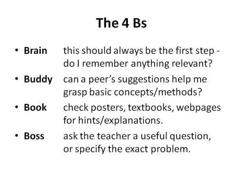 Brain/Book/Buddy/Boss